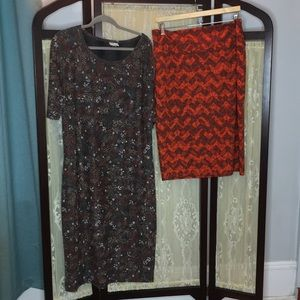 Lularoe Dress & Skirt 3x